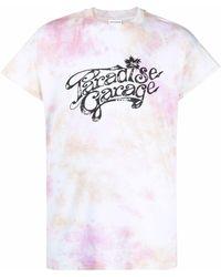 Honey Fucking Dijon Paradise Garage Tie-dye Print T-shirt - Pink
