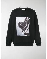 Calvin Klein - Felpa con stampa fotografica - Lyst