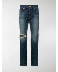 R13 - Jeans con effetto invecchiato - Lyst