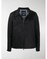 Herno Laminar Zip-through Jacket - Black