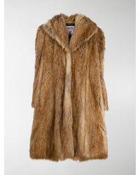 Moschino Teddy Bear Coat - Brown