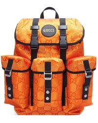 Gucci Off The Grid GG Multi-pocket Backpack - Orange