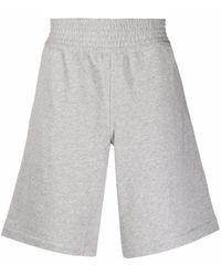 Comme des Garçons Plain Jersey Shorts - Grey
