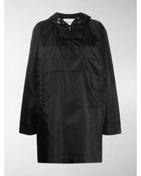 1017 ALYX 9SM Boxy Fit Hooded Coat - Black