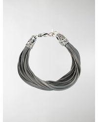 Emanuele Bicocchi Wrap Bracelet - Metallic