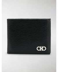 Ferragamo Double Gancio Wallet - Black