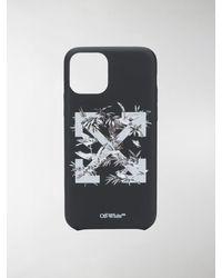 Off-White c/o Virgil Abloh Cover per iPhone 11 Pro - Nero