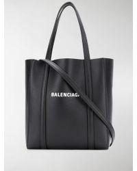 Balenciaga Borsa Everyday Xxs In Pelle - Nero