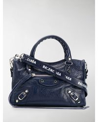 Balenciaga Borsa City mini - Blu