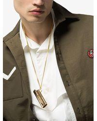 Ambush Halskette mit Feuerzeug-Anhänger - Mehrfarbig