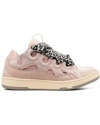 Lanvin 'Curb' Sneakers - Pink
