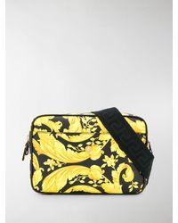 Versace Barocco-print Belt Bag - Black