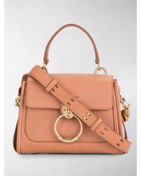 Chloé Small Tess Day Bag - Pink