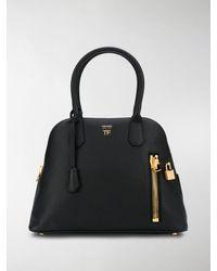 Tom Ford Alix Medium Dome Bag - Black