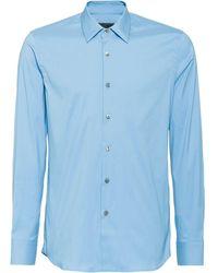 Prada Hemd mit Knöpfen - Blau