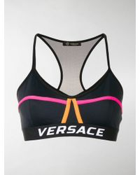 Versace - Logo Band Sports Top - Lyst