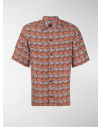 Prada Camicia a fantasia - Giallo