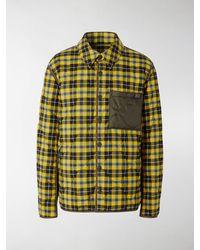 Burberry - Giacca-camicia con motivo tartan - Lyst