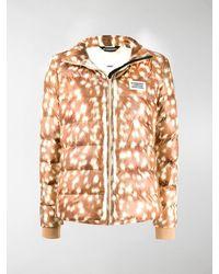 Burberry Deer Print Econyl® Padded Jacket - Brown