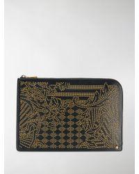 Versace - Zipped Studded Organiser - Lyst