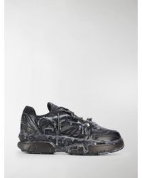 Maison Margiela Black Fusion Low Sneakers