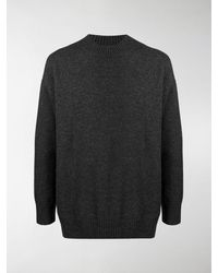 Junya Watanabe Colour-block Sweater - Gray
