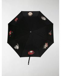 Alexander McQueen - Foldable Skull Handle Umbrella - Lyst