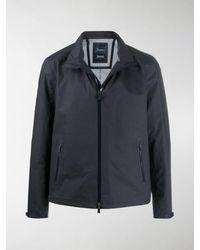Herno Laminar Zip-through Jacket - Blue