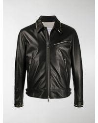 Valentino - Rockstud Leather Jacket - Lyst