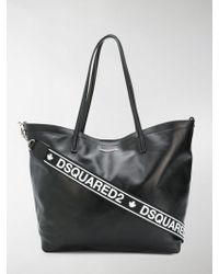 DSquared² - Logo Tote Bag - Lyst