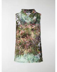 Max Mara - Garden Print Blouse - Lyst