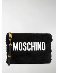 Moschino - Pouch con logo - Lyst