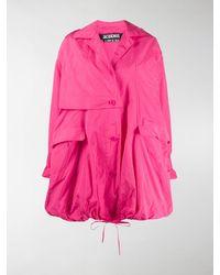 Jacquemus La Parka Ouro Coat - Pink