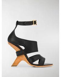 Alexander McQueen No. 13 Sandals - Black