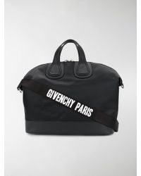 Givenchy - Nightingale Nylon And Leather Holdall - Lyst