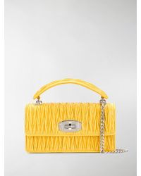 Miu Miu - Cleo Shoulder Bag - Lyst