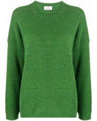 Barena Drop-shoulder Knitted Jumper - Green