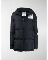 Moschino Teddy Bear Puffer Jacket - Black