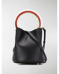 Marni Small Pannier Bucket Bag - Black