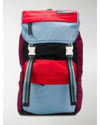 Marni - Colour-blocked Backpack - Lyst