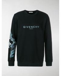 Givenchy - Capricorn Dragon Print Sweatshirt - Lyst