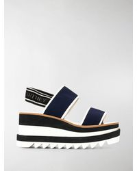 Stella McCartney Sneak Elyse Sandals - Blue