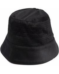 Rick Owens DRKSHDW Zip-detail Bucket Hat - Black