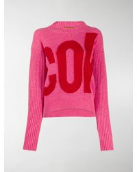 Colville Logo Embroidered Sweater - Pink