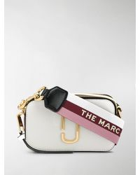 Marc Jacobs CAMERA BAG THE SNAPSHOT SMALL - Bianco