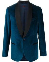 Mp Massimo Piombo Jackett aus Samt - Blau