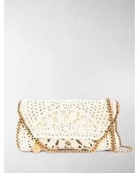 Stella McCartney Mini Falabella Crochet Bag - Multicolour