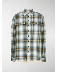 DSquared² Plaid Shirt - Blue