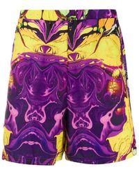 Formy Studio 'Purple Haze' Badeshorts - Gelb
