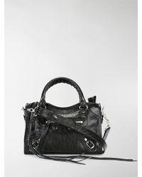 Balenciaga Classic City Mini Cross Body Bag - Black